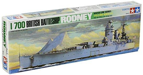 Tamiya Model Ships - Tamiya Models Rodney Battleship
