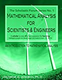 Mathematical Analysis for Scientists and Engineers Series No. 1 : An Introduction to Mathematical Analysis, Adebiyi, George, 0990405044