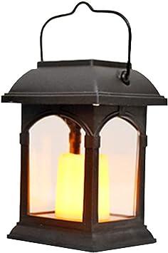 ZHAB Farolillos Solares Exterior,Farol de Plástico Linterna Solar ...