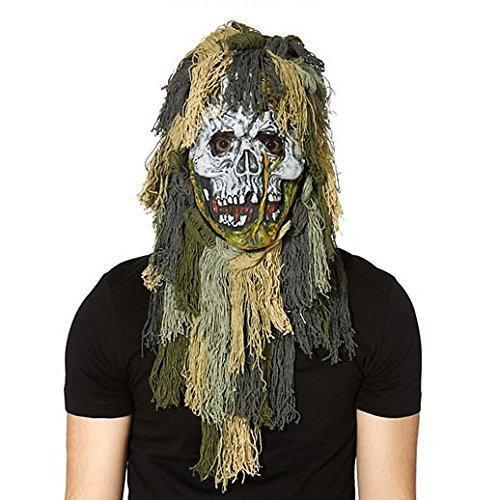 Zombie Flo Costume (Costume Beautiful Swamp Zombie Mask)