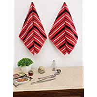 Avira Home Royal Classic Kitchen Towels, Pack of 4,(Multicolor)_Parent