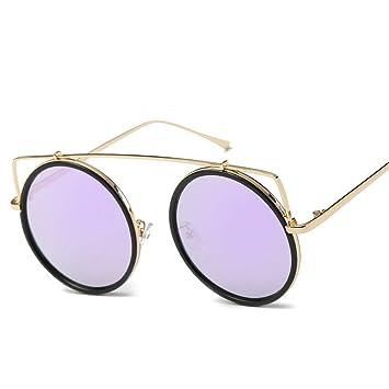 YWYU Nuevas Gafas de Sol Personalizadas con Montura Redonda ...