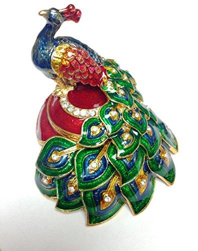 Bejeweled Trinket Box - 6