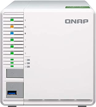 QNAP TS-332X 3-Bay RAID 5 Diskless Network Attached Storage for PC