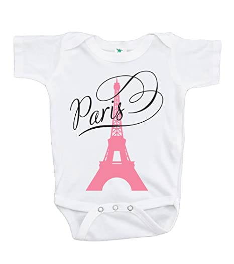 a9bf31e6c Amazon.com  Custom Party Shop Baby Girl s Paris Eiffel Tower ...
