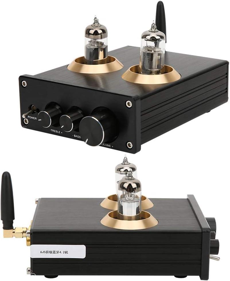 amplificateur audio pour home cin/éma 6J1 Pr/éamplificateur Amplificateur de puissance num/érique 100W 100W DC12V 2A Pr/éamplificateur /à tube /à vide Pr/éamplificate Amplificateur de puissance num/érique