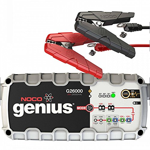 NOCO Genius G26000 12V/24V 26A Pro Series UltraSafe Smart Battery Charger