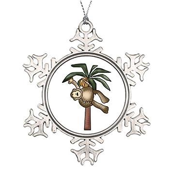 Amazon Com Dozili Christmas Tree Decoration Monkey In Banana Tree
