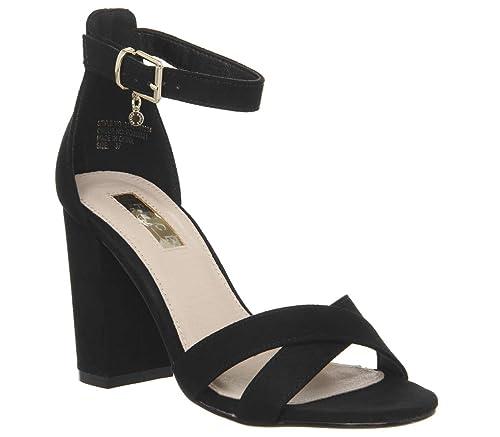 20b5c82e3539 Office Holborn Cross Vamp Block Heels  Amazon.co.uk  Shoes   Bags