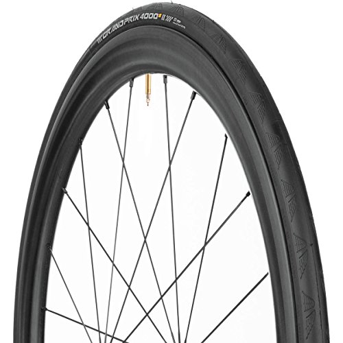 Continental Grand Prix 4000 S II Tire - Clincher Black Chili: Vectan Breaker, 700c x 25mm