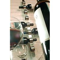 Blomus 65193 Soporte para botella de vino de 29 pulgadas montado en la pared