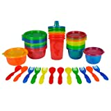 The First Years  Learning Curve Take and Toss Feeding Variety-Pack, Colors May Vary, 28-Piece