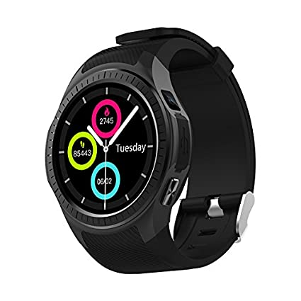 Kassica GPS Smartwatch Bluetooth Smart Watches Heart Rate Blood Pressure SIM Card Sports Fitness Tracker with Compass Stopwatch Altitude Sleep Monitor ...