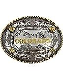 Cody James Men's Antiqued Colorado Oval Belt Buckle - 530-816M