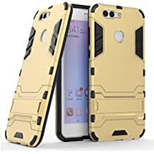 Huawei Nova 2 Plus Case, Huawei Nova 2 Plus Hybrid Case, Dual Layer Shockproof Hybrid Rugged Case Hard Shell Cover with Kickstand for 5.5'' Huawei Nova 2 Plus [NOT fit 5.0'' Huawei Nova 2]