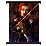 BloodRayne Game Fabric Wall Scroll Poster (16