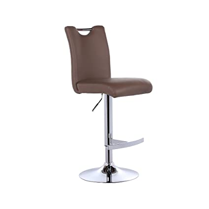 Mesurn Leisure Bar Chairs, High Stools, Can Be Raised and Lowered Rotation Continental Coffee