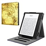 Fintie Stand Case for Kindle Oasis (9th Generation, 2017 Release ONLY) - Multi Angle Hands-free Viewing Flip Cover with Auto Sleep / Wake for Amazon All-New 7'' Kindle Oasis E-reader, Ancient Map