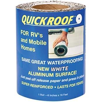 Amazon Com Cofair Wqr6 White 6 Quot X35 5 Quick Roof Tape