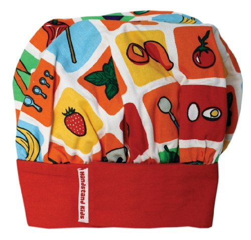 Handstand Kids Child's Eat Your Fruits and Veggies Chef's Hat -