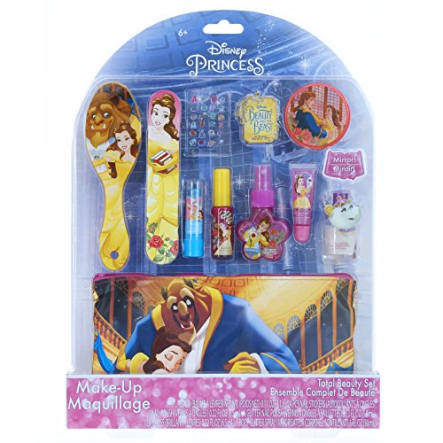 Beauty and The Beast Cosmetic Set with Water Based Nail Polish ()