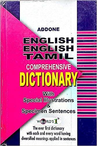 Buy ADDONE's COMPREHENSIVE DICTIONARY [ENGLISH - ENGLISH
