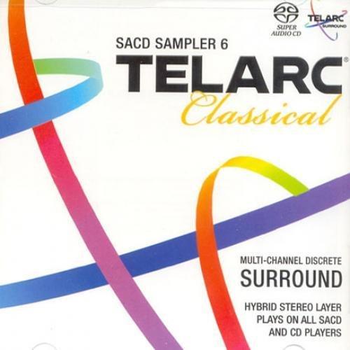 TELARC CLASSICAL SACD SAMPLER 6 [SACD HYBRID] by VARIOUS [Korean Imported] (2009)