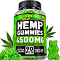 Hemp Oil Gummies 4500mg 50 Mg Each Gummy Superstrong Usa Made 100 Natural Safe Hemp Extract Tasty Hemp Gummies For Pain Stress Anxiety Relief Sleep Mood Support Rich In Omega 3