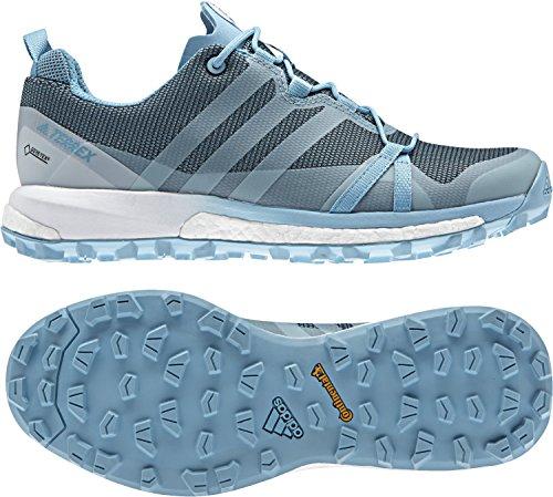 b04bb3e8dd7fd adidas outdoor Womens Terrex Agravic GTX Shoe (6 - Vapour Blue/Clear  Aqua/White)