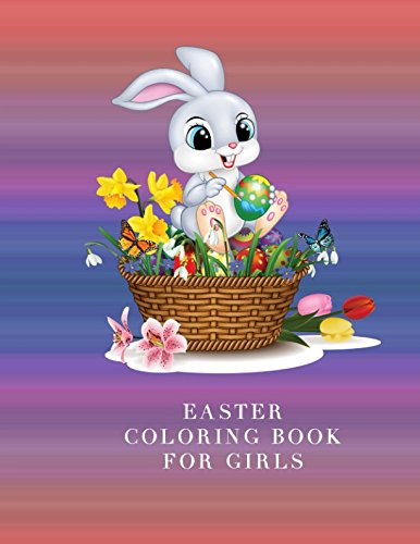 Easter Coloring Book for Girls