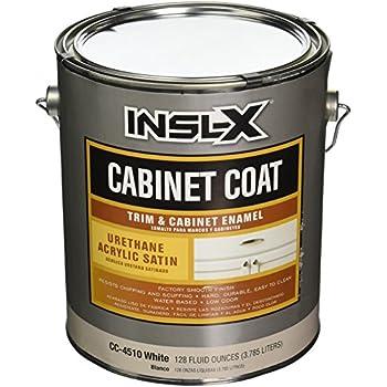 INSL X PRODUCTS CC4510092 01 Gallon Satin White Cab Enamel