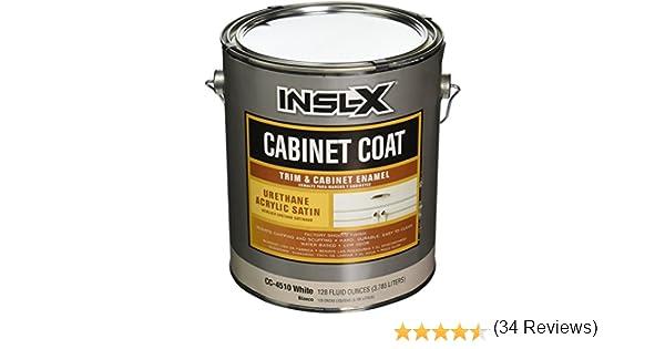Amazon.com: INSL-X PRODUCTS CC4510092-01 Gallon Satin White Cab ...