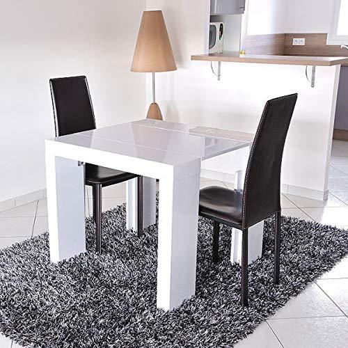 Blanc 90 Moloo Laquée 75 Table 300 Cm Console Extensible CmX Pm80vwOyNn