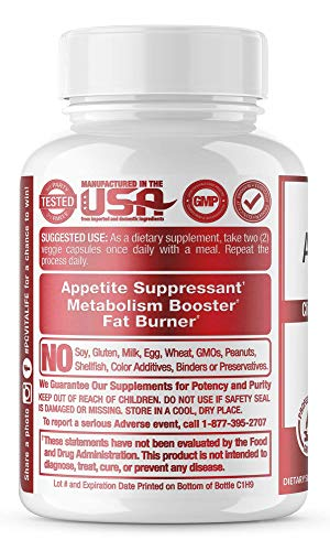 Fat Burners for Women  Men Thermogenic Fat Burner Pills Award Winning Capsimax Organic Apple Cider
