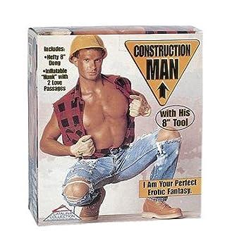 Muñeco Hinchable Hombre De La Construccion: Amazon.es: Salud y ...