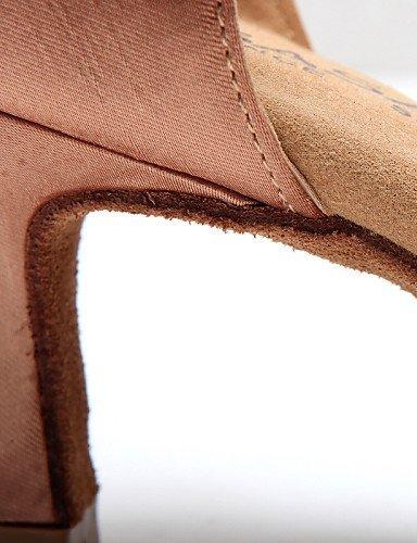 de champagne danse Brillante Noir Bobine Talon Chaussures Flocage Personnalisables Chocolat Salsa Non Paillette ShangYi Latine wq1Fn