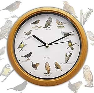 singing bird reloj de pared hogar y cocina