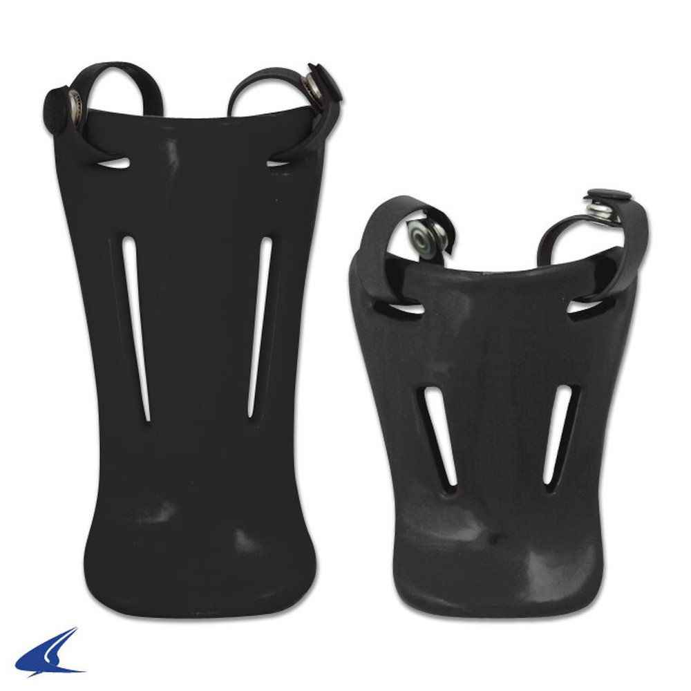 CHAMPRO Throat Guards Black Retail Pkg - 4.5'' CM06-CM07 CM07H