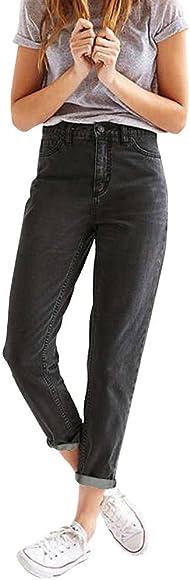 Damen Jeans| Jeanshose|Gerade Jeans|Lose Hosen|Lose Jeans|High Waist Hose | Freizeithose