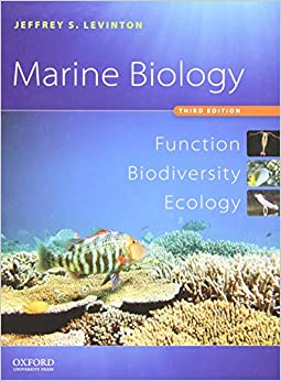 Book Marine Biology: Function, Biodiversity, Ecology
