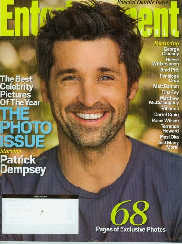 Entertainment Weekly Special Double Issue - The Photo Issue starring Patrick Dempsey
