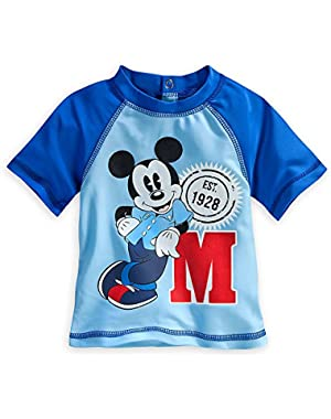 Baby Boys' Mickey Mouse Rash Guard -