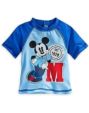 Baby Boys' Mickey Mouse Rash Guard -