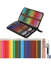 """AGPTEK-Sulu Kalemler, karıştırma ve renk katman için kalem sahibi, mükemmel 48 renkli kalemler ve Zubehöre, çok renkli sanat kalemler ile Profesyonel sulu boya kalem seti - \""""ÇOKLU \"""""""