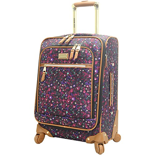 "Price comparison product image Steve Madden Luggage Honey 20"" Spinner (Purple)"