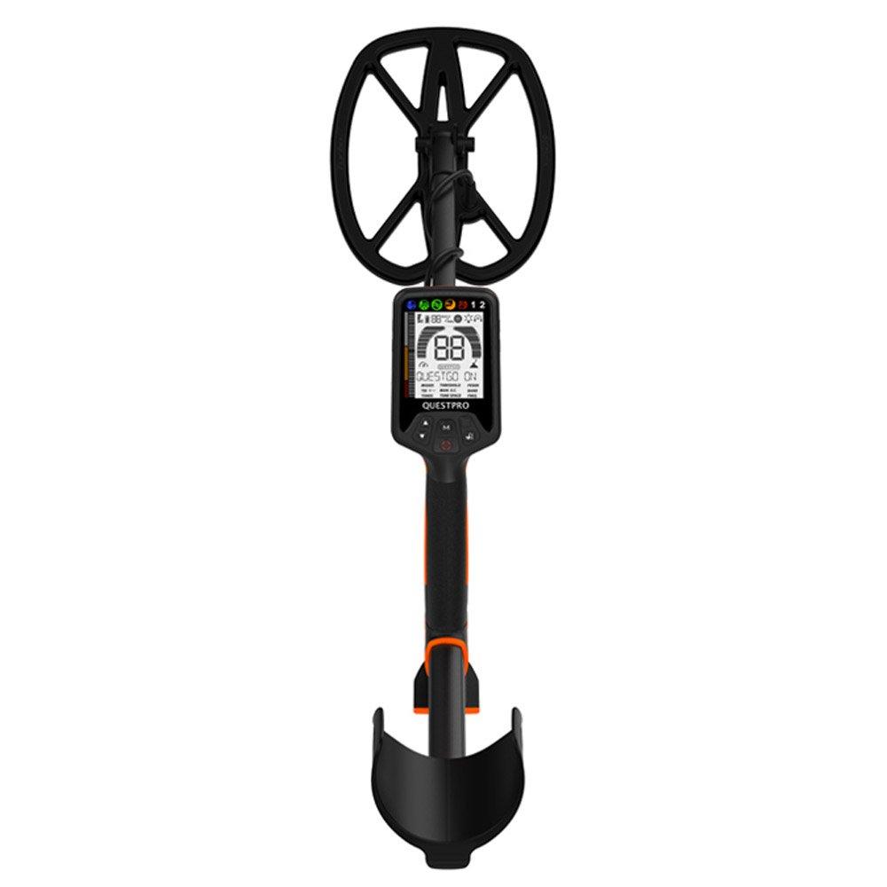 Amazon.com : Quest 1703.6 Pro Sports Pack Metal Detector, Black/Orange : Garden & Outdoor