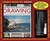 The Practical Encyclopedia of Drawing Kit: Learn How to Draw: A 256-Page Instruction Book, 15 Artist's Pencils, Eraser, Sharpener and Artist's Sketchbook