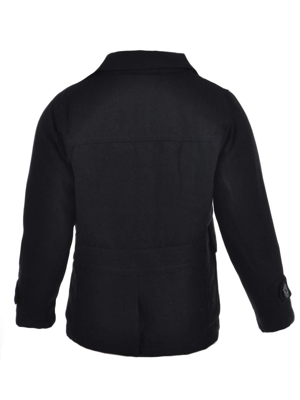 Urban Republic Big Boys' Wool Peacoat - Black, 10-12 by Urban Republic (Image #3)