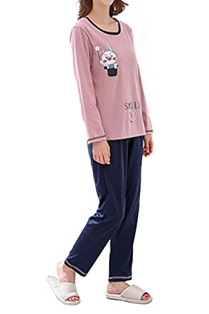 c8422462faaf Amazon.com  Big Girls  Casual Comfy Cute Pig Print Pajamas Set 100 ...