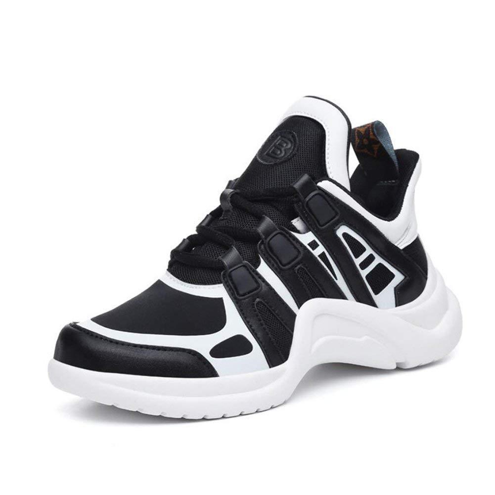 Oudan Damen-Turnschuhe Koreanische Breathable Lederschuhe Outdoor-Freizeitschuhe Damen Laufschuhe Athletic Walk Schuhe (Farbe   EIN Größe   39) (Farbe   B Größe   36)